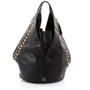 Givenchy Lambskin Tinhan Studded Hobo Bag
